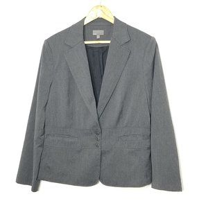 Mexx Gray Button Classic Blazer 12 Stretch Pockets